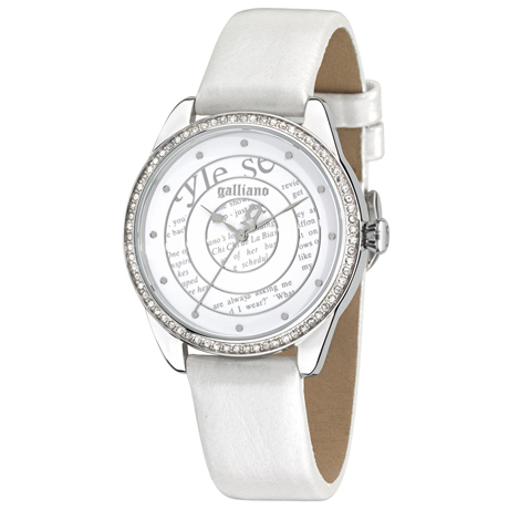 white John Galliano watch